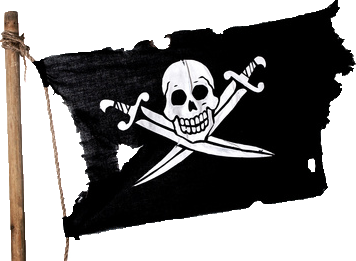 cut pirate flag